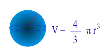 formula-volume-sphere